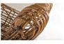 Кресло CRUZO Мадонна натуральный ротанг медовый kr0002 - Фото №3