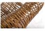 Кресло CRUZO Мадонна натуральный ротанг медовый kr0002 - Фото №5