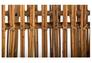 Кресло CRUZO Мадонна натуральный ротанг медовый kr0002 - Фото №4