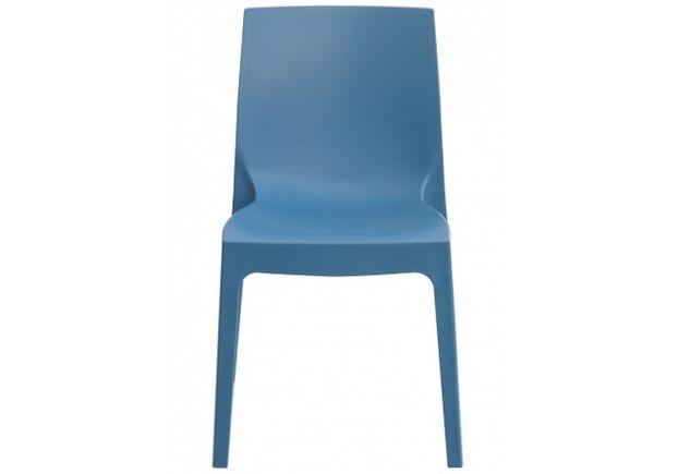 Стул пластиковый ROME avio blue (Рим синий) - Фото №2