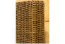Диван-кровать CRUZO Уго натуральный ротанг с желтым матрасом  - Фото №9