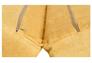 Диван-кровать CRUZO Уго натуральный ротанг с желтым матрасом  - Фото №3