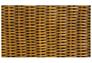 Диван-кровать CRUZO Уго натуральный ротанг с желтым матрасом  - Фото №5