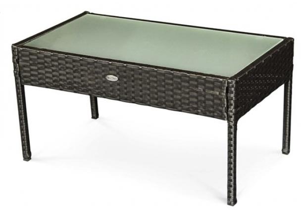 Комплект мебели для улицы CRUZO Корсика искусственный ротанг черный  - Фото №2