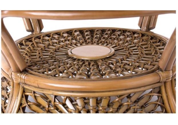 Комплект мебели CRUZO Ацтека натуральный ротанг светло коричневый  - Фото №2