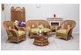 Комплект мебели CRUZO Ацтека натуральный ротанг светло коричневый  - Фото №4