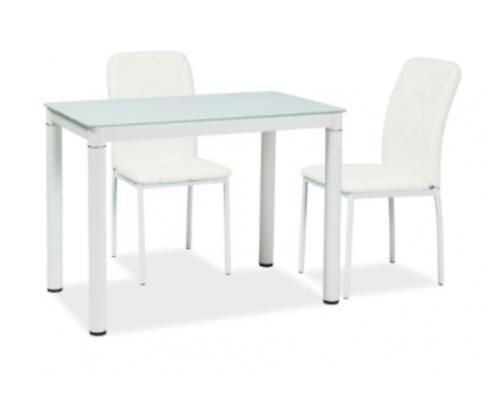 Стол обеденный Signal Galant  100*60*h75 см белый - Фото №1