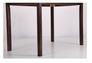 Комплект обеденный Брауни (стол+4 стула) темный шоколад/латте - Фото №7