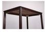 Комплект обеденный Брауни (стол+4 стула) темный шоколад/латте - Фото №9