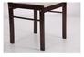 Комплект обеденный Брауни (стол+4 стула) темный шоколад/латте - Фото №5