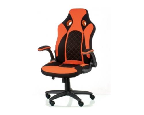 Кресло офисное Special4You Kroz Black/Red  - Фото №1