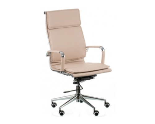 Кресло офисное Special4You Solano 4 artleather beige - Фото №1