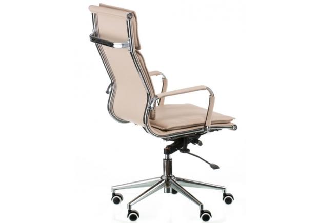 Кресло офисное Special4You Solano 4 artleather beige - Фото №2