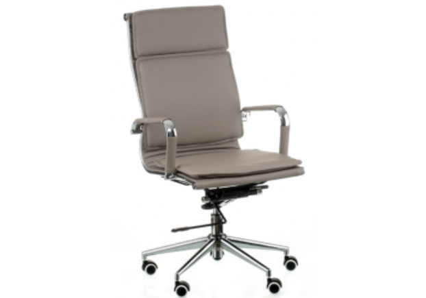 Кресло офисное Special4You Solano 4 artleather grey - Фото №1