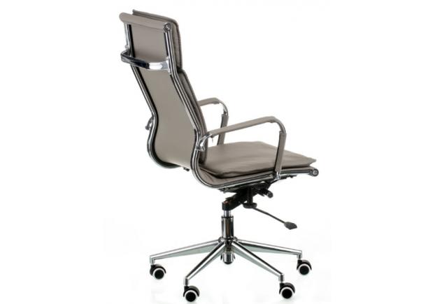 Кресло офисное Special4You Solano 4 artleather grey - Фото №2