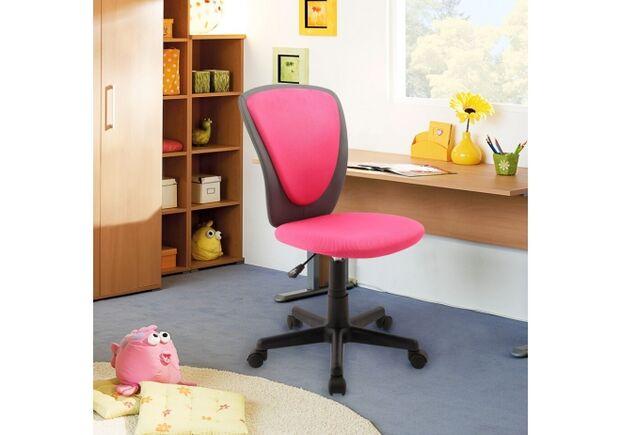 Кресло Home4You BIANCA Pink-dark grey - Фото №2