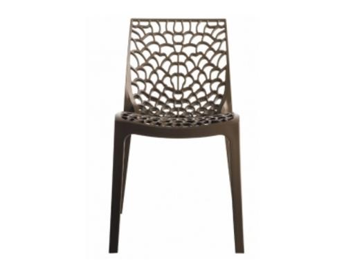 Пластиковый стул GRUVYER MOKA (Грувер Мокко) - Фото №1