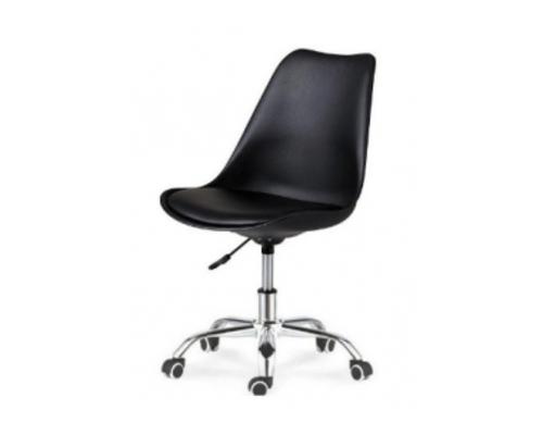 Кресло офисное Астер черное с  подушкой  - Фото №1