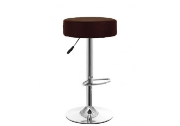 Высокий барный стул Пина черный - Фото №1