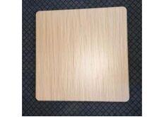Фото Столешница квадратная Эльба-N HPL 80*80 см толщина 25 мм цвет натуральное дуб