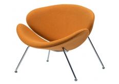 Фото Мягкое кресло для лаунж зон FOSTER (Фостер) из ткани желтый кари