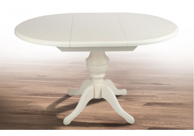 Стол раскладной круглый Гермес белый - Фото №2