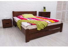Фото Кровать Айрис с изножьем 160x200 см венге