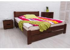 Фото Кровать Айрис с изножьем 160x200 см светлый орех