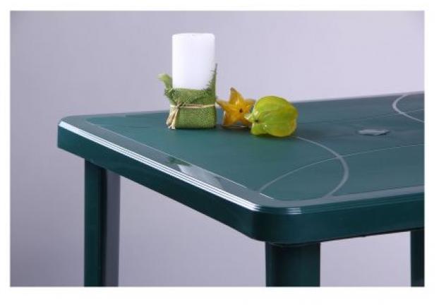 Стол Nettuno 80х80 см пластик зеленый  - Фото №2