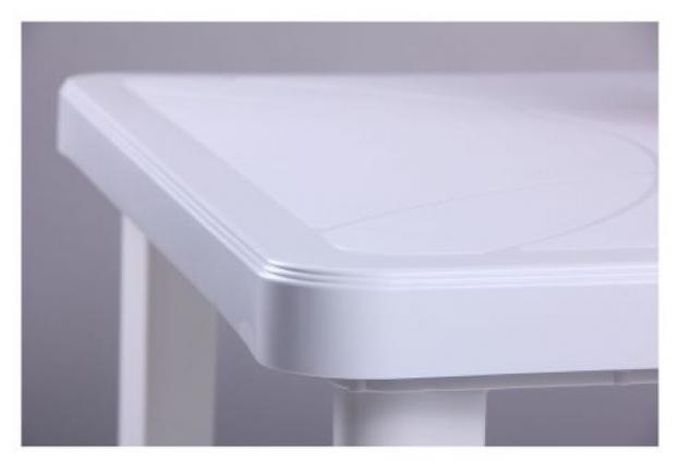 Стол Nettuno 80х80 см пластик белый  - Фото №2