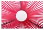 Стол Agave каркас черный/ротанг розовый - Фото №3