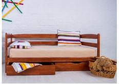 Фото Кровать Ева с ящиками 90x200 см бук натуральный