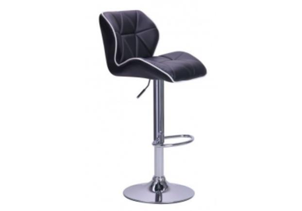 Барный стул Vensan черный  - Фото №1