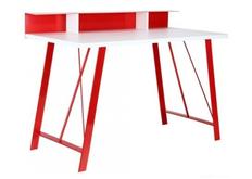 Фото Компьютерный стол Mayakovsky красный/белый