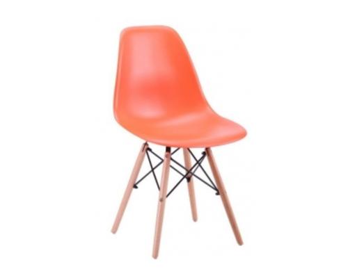 Стул Aster PL Wood пластик оранжевый - Фото №1