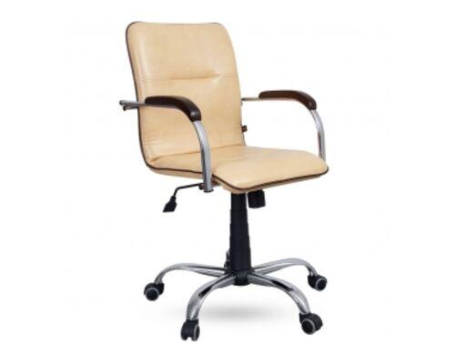 Кресло Самба-RC хром с кантом (м-зм Tilt, искусств.кожа Неаполь) - Фото №1