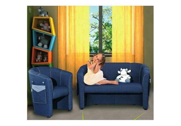 Кресло детское Капризулька ткань Джинс - Фото №2