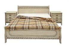 Кровать калина с патиной