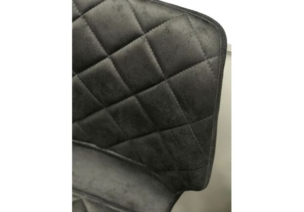 Стул полубарный DIAMOND (Даймонд) ткань графит оил - Фото №2