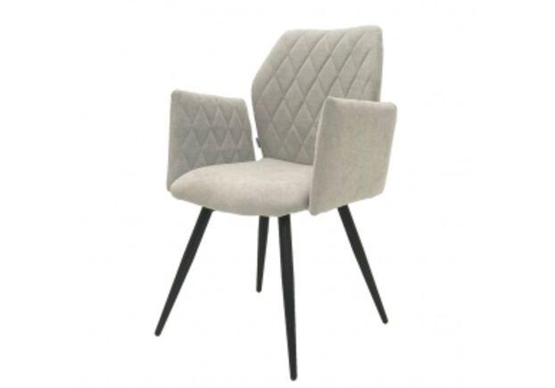 Кресло обеденное GLORY (Глори) ткань теплый серый - Фото №1