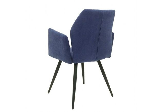 Кресло обеденное GLORY (Глори) ткань синяя - Фото №2