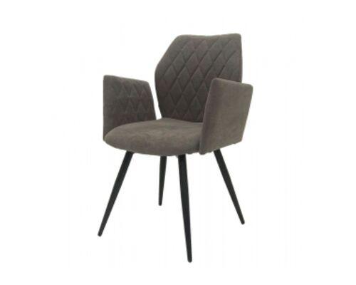 Кресло обеденное GLORY (Глори) ткань стоун грей - Фото №1