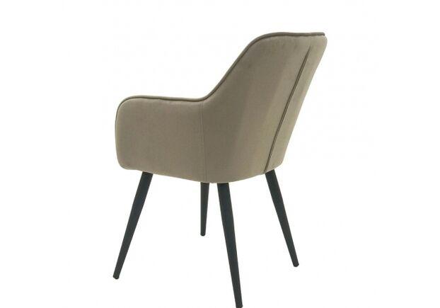 Кресло обеденное ANTIBA (Антиба) ткань пудровая серая - Фото №2