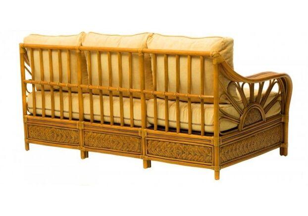 Комплект плетеной  мебели Аскания из натурального ротанга со столиком - Фото №2