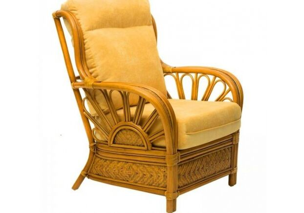Комплект плетеной мебели Аскания из натурального ротанга - Фото №2