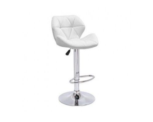 Высокий барный стул Старлайн белый - Фото №1