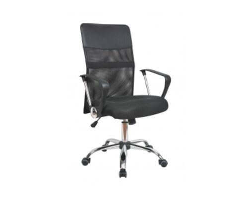 Кресло офисное Оливия D черное - Фото №1
