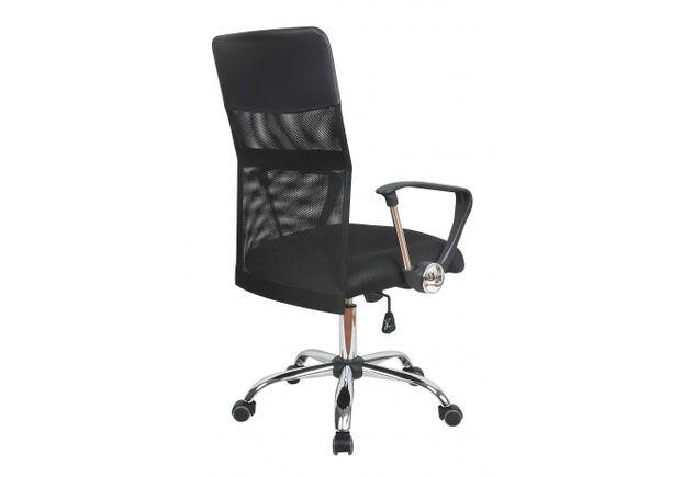 Кресло офисное Оливия D черное - Фото №2