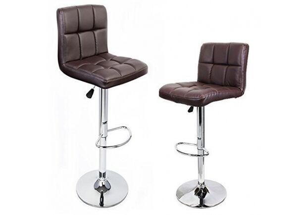 Барный стул Даниэль коричневый - Фото №2