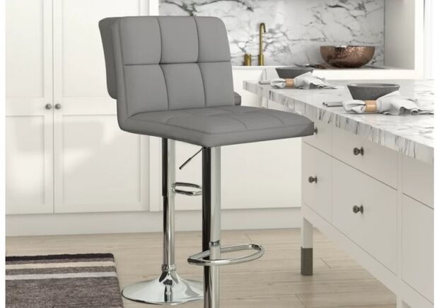 Барный стул Даниэль серый - Фото №2